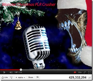 Monster-Christmas-PLR-Crusher