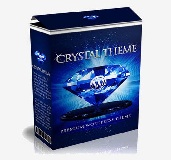 Crystal Theme for Internet Marketing professionals