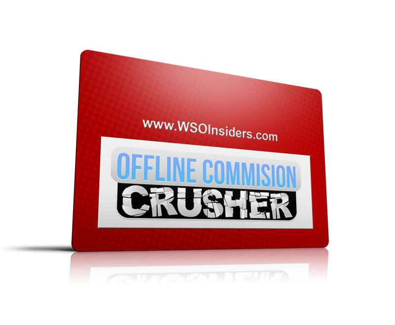 Offline Commissions Crusher