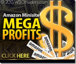 Amazon Minisite MEGAProfits