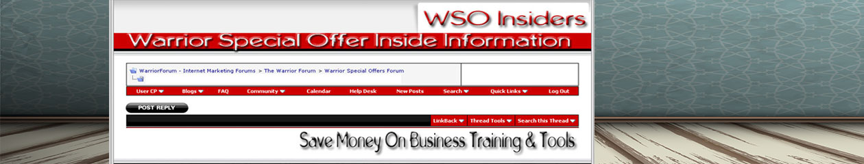 Warrior Special Offers – The Inside Information