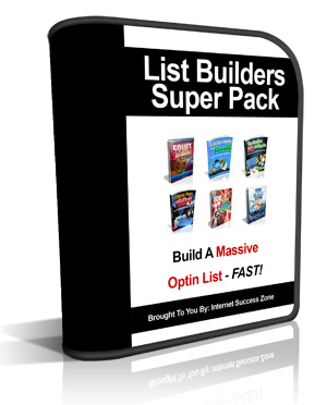 List Builders Super Pack Software