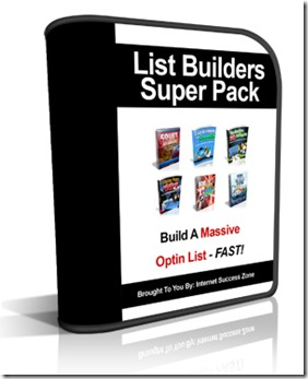 list bilders super pack software