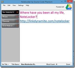 NoteLocker