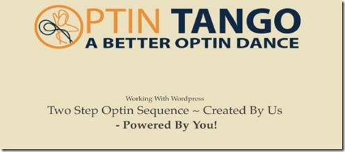 optin tango tagline