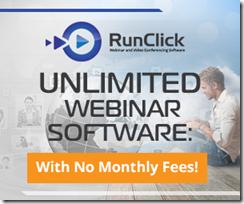 RunClick Unlimited Webinar System